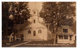 Vermont Strafford  , Congregational Church  ,RPC