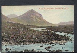 Scotland Postcard - Glen Sligachan, Marscow, Skye   T7711
