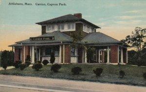 ATTLEBORO , Massachusetts , 1900-10s ; Casino , Capron Park