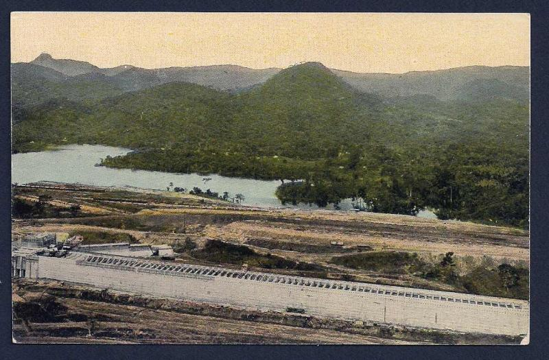 Pedro Miguel Lock Panama Canal Construction unused c1910's