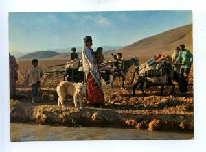 192797 IRAN SHIRAZ Faars tribes dress old photo postcard