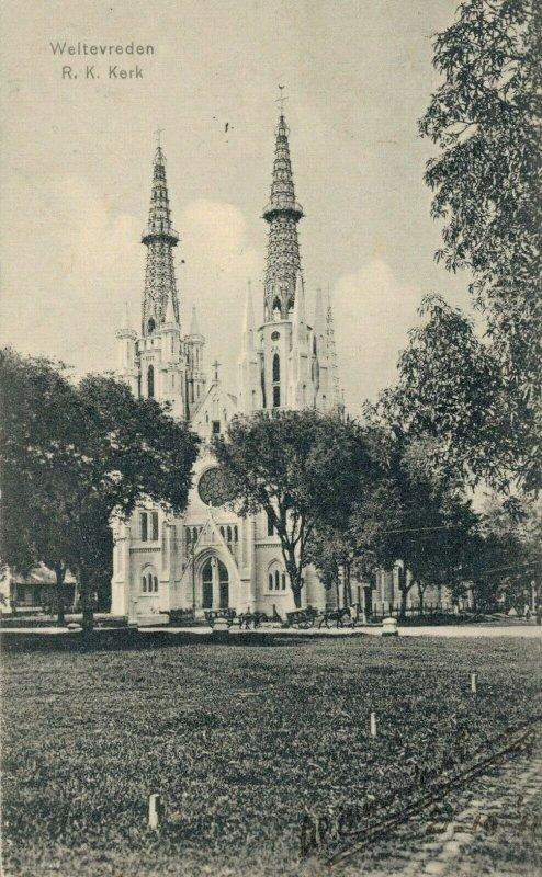 Indonesia Weltevreden Rooms Katholieke Kerk 03.74