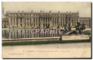Old Postcard Versailles Palace Front Corps On the Park Parterre d & # 39eau