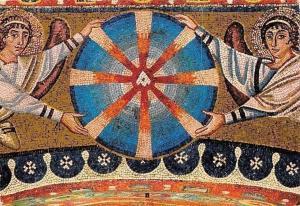 Italy Ravenna Basilica di S. Vitale, Particolare della Sommita Arco Trionfale