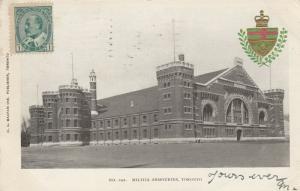 TORONTO (Ontario), 1905 ; Armouries #5