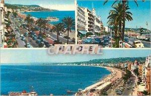 Modern Postcard The French Riviera Nice Promenade des Anglais