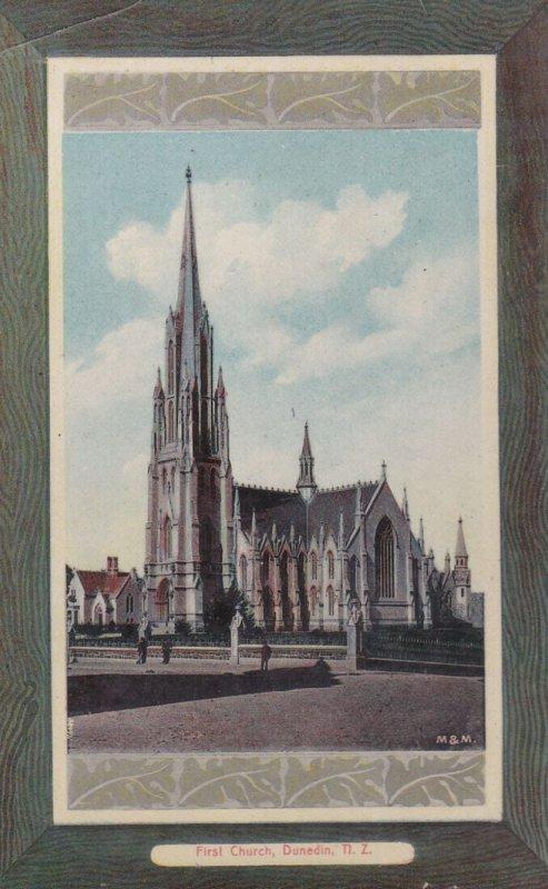 DUNEDIN, New Zealand, 1900-1910's; First Church
