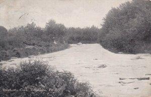TOBYHANNA, Pennsylvania, PU-1912; Tobyhanna Creek