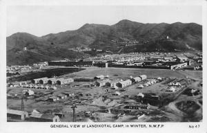 Pakistan General View of Landikotal Camp, in Winter, N.W.F.P.