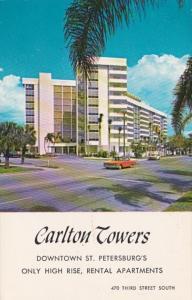 Florida St Petersburg Carlton Towers Rental Apartments