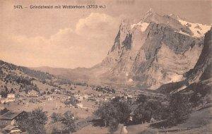 Grindelwald mit Wetterhorn Switzerland Unused