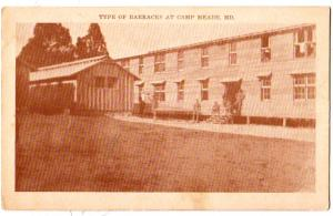Barracks at Camp Meade Md