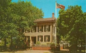 Abraham Lincoln's Home, Springfield Illinois unused Postcard