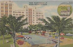 Florida Miami Beach The Vanderbilt On The Ocean