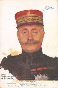 Marshal Foch American Red Cross Unused