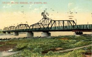 MO - St Joseph. Grand Island Bridge