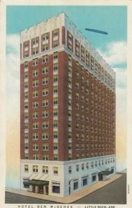 LITTLE ROCK, Arkansas, 1910-20s; Hotel Ben McGehee