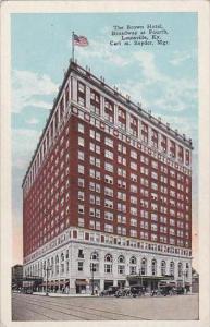 Kentucky Louisville The Brown Hotel Broadway At Fourth 1956