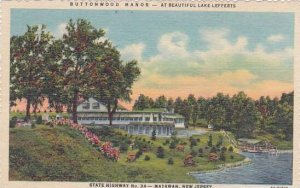 New Jersey Matawan Buttonwood Manor At Beautiful Lake Lefferts State Highway