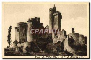 Old Postcard surroundings Fumel Chateau De Bonaguil