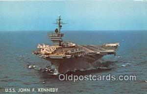 Warship Postcard Post Card USS John F Kennedy