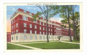 Methodist Hospital, Union Avenue, Memphis, Tennessee, 1930-40s PU