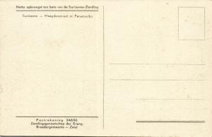 suriname, PARAMARIBO, Maagdenstraat (1930s) Moravian Mission