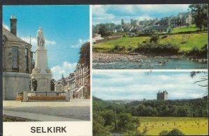 Scotland Postcard - Views of Selkirk    RS4370
