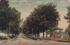 Maine Norridgewock Street Scene
