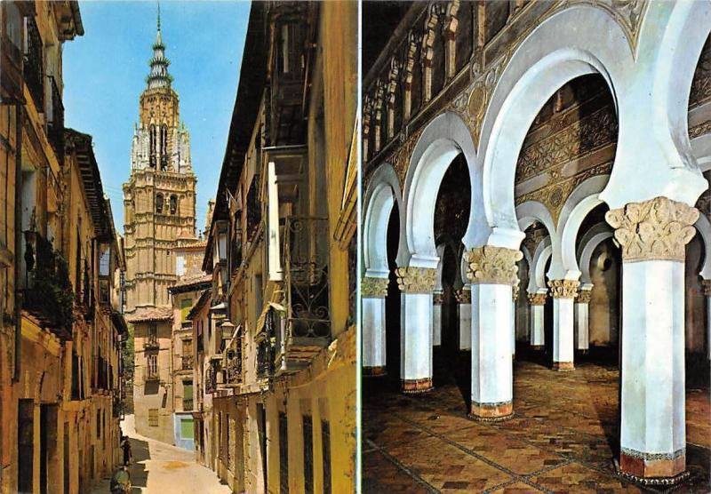 Spain Toledo Street of St. Elizabeth and Holy Mary the White
