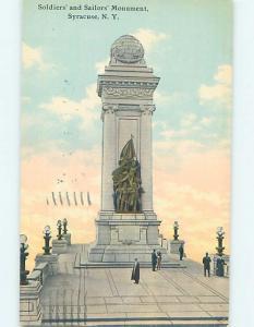 W-Border MONUMENT SCENE Syracuse New York NY F2900