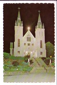 Martyrs' Shrine at Night, Midland, Ontario,