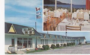 2-views,  Motel Etoile D'Or,  Riviere-a-Claude,  Gaspe Nord,  Quebec,  Canada...