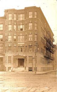 Boston MA The Arnold 844 Beacon Street RPPC Postcard