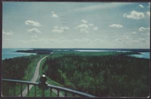 Portage North End Grand Lake,MI Postcard BIN