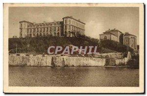 Postcard Old Marseille Le Jardin du Pharo AVEE the School of Medicine and Pha...
