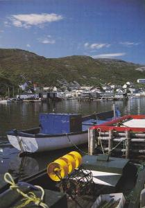 A quiet fishing community,  Petty Harbour,  St. John´s,  Newfoundland,   Can...