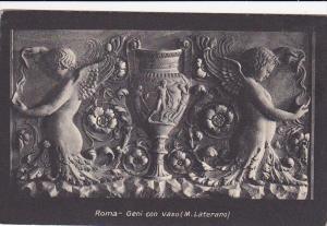 Geni Con Vaso (M. Laterano), Roma (Lazio), Italy, 1900-1910s