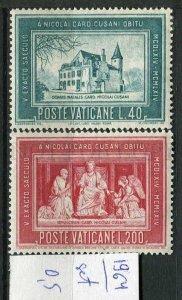 265955 Vatican 1964 year MNH stamps set Nikolai Cusani