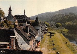 BR30839 Argentat vieilles maisons France