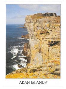 Aran Islands Cliffs Ireland Vintage John Hinde 4X6 Postcard