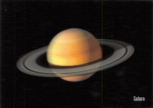3D Postcard, of Planet SATURN by MBM Systems 64U