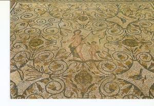 Postal 025665 : Moaico Romano Venus y Eros. Merida
