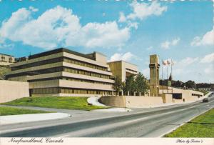 City Hall Building, St. John´s, NewFoundland, Canada, PU-1981
