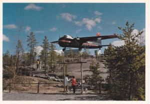 Bristol Monument , Airport ,  Yellowknife  , N.W.T., Canada , 60-70s
