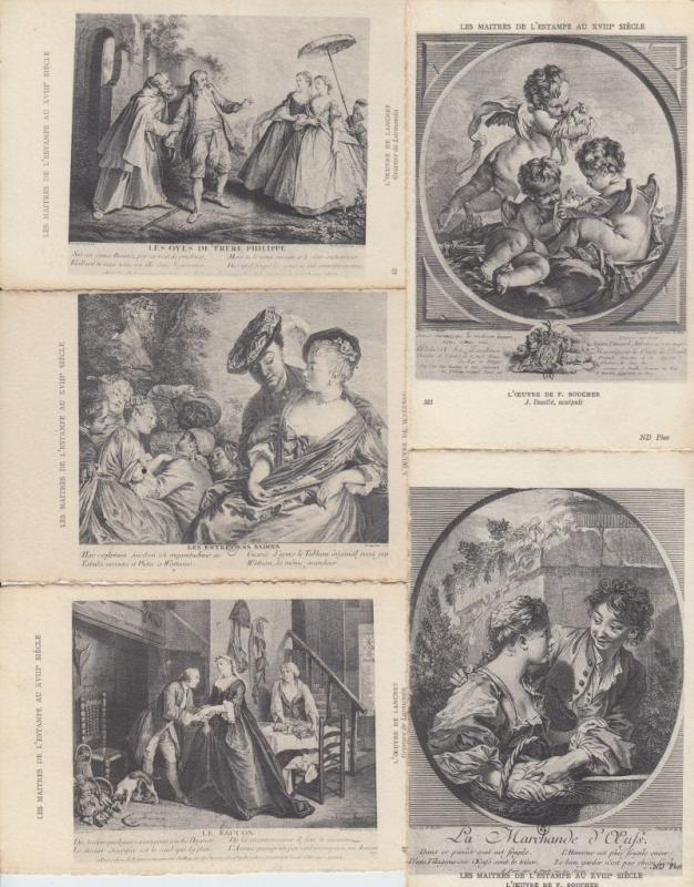 GRAVURES HISTORIQUE HISTORY 42 Cartes Postales 1900-1940