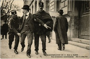 CPA PARIS - La Manifestation du Ie Mai a Paris (82144)