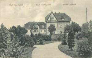 Poland Bad Oppelsdorf Opolno-Zdrój Bad Josefquelle Sach. Zollamt villa