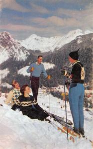 Olympia Washington Snoqualmie Pass Skiing Vintage Postcard J62031