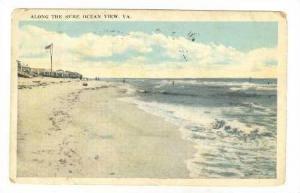 Along The Surf, Ocean View, Virginia, PU-1907